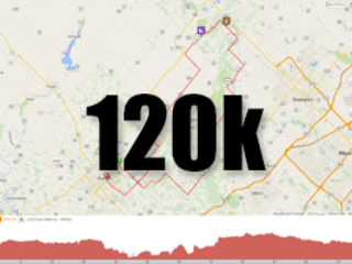 Forks of the Credit, 120k ride